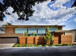 courtyard house is a contemporary residence in seattle by deforest