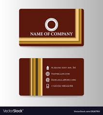 business card background business card background design with logo vector image