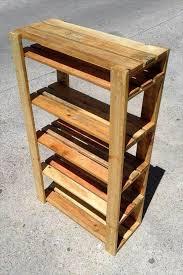 ... pallet shoe rack