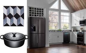 samsung black stainless steel. Refreshing Kitchens With Black, Featuring Samsung Black Stainless Steel Appliances P