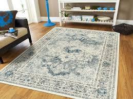 blue rug living room details about distressed area rugs cream blue rug living room rugs runner