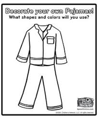 Small Picture Pajama Day Coloring Pages polar express Pinterest Pyjamas