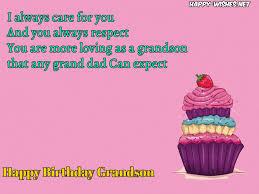 Grandson Quotes Extraordinary Happy Birthday Wishes For Grandson Quotes Messages Happy Wishes
