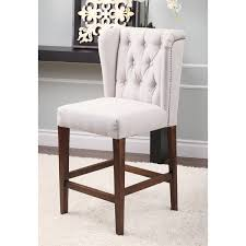 tufted bar chairs. Plain Bar Abbyson Monica Pedersen 30inch Tufted Grey Barstool Throughout Bar Chairs R