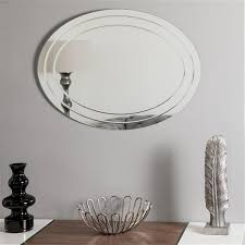decor wonderland tate frameless oval