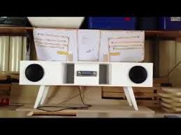 speakers in box. back loaded horn speaker box using car stereo components - candle test youtube speakers in