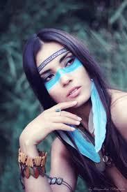 native american makeup