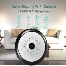 Sunshine Kamera CCTV IP Wireless WiFi Fisheye <b>360</b> Derajat ...