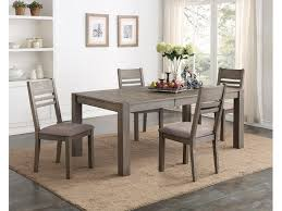 dining room tables. Easton Grey 5 Piece Dining Set GP:D483 Room Tables O