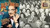 GROUCHO MARX - You Bet Your Life S6E30 (1956) - YouTube