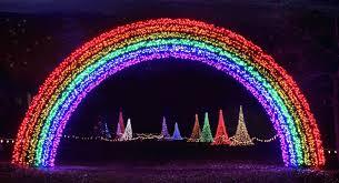 Wps Garden Of Lights Wps Garden Of Lights Rainbow Holiday Lights Garden Of