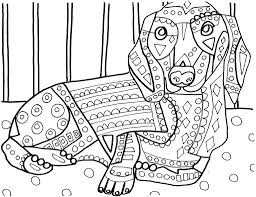 Dachshunds Coloring Page By Heather Galler