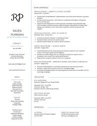 Raven Pearman Art Director Painter Resume
