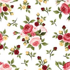 Rose Pattern New 48 Free Vector Rose Patterns FreeCreatives