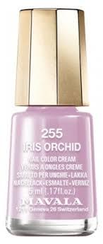 <b>Mavala</b> Mini Color Nail Color Cream 5ml - Colour: <b>255</b>: <b>Iris Orchid</b>