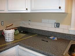 image of subway tile backsplash ideas for white kitchen