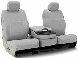 coverking light grey ballistic seat covers