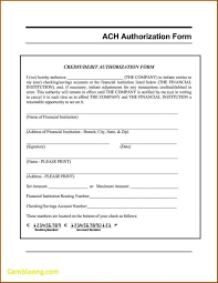 Direct Deposit Authorization Form Example | Nfcnbarroom.com