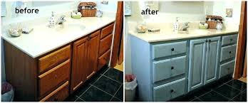 Redo Bathroom Cabinets