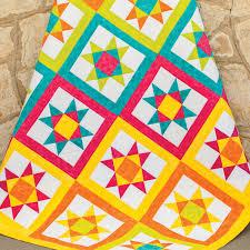 Star Pattern Quilt Best GO Vibrant Ohio Star Quilt Pattern AccuQuilt