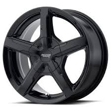 5x110 Bolt Pattern Delectable AR48 TRIGGER GLOSS BLACK RIM By AMERICAN RACING WHEELS