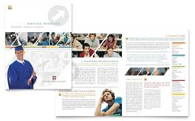 College Templates College University Brochure Template Design