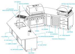 ... Outdoor Kitchen Floor Plans 3 Outdoor Kitchen Plans ...