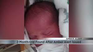 Amber Alert alert for missing child ...