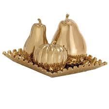 Gold Decorative Bowl Home Decorators Collection 11 In Square Ceramic Decorative Plate