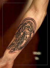 Tetování Rožnov Pod Radhoštěm Tattoo Peří Feather Works