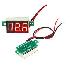 Hasil gambar untuk voltmeter digital dc