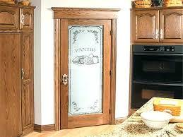 antique pantry door tempting frosted glass ideas doors n rustic fr