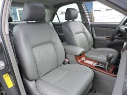 2002 toyota camry xle leather sunroof