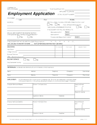 Free Downloadable Employment Application Forms Free Employment Application Form Template Download Australia