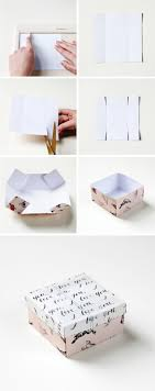 25 Best Gift Boxes Ideas On Pinterest Diy Gift Box Diy Box And