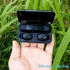 Tai Nghe Bluetooth 5.0 Amoi F9 Pro Bản Quốc Tế Cao Cấp - Cảm Biến Vân Tay  Sạc Dự Phòng - AUDIO365 - BH 6 tháng
