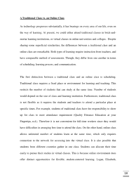 essay on online education compare and contrast essay a traditional class vs an online class