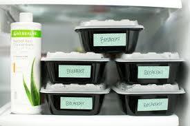 Herbalife Meal Plan Make Mealtime Easier With This Prep Once Eat Twice Plan Hello Glow