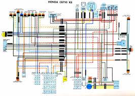 car wiring diagram page  honda cb750 k8 wiring