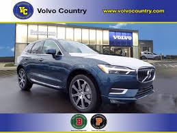 New 2021 Volvo Xc60 T5 Inscription In Denim Blue For Sale In Lawrenceville Nj 121373