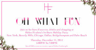Holiday Shopping Party New York Bargains