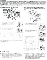 liftmaster garage door opener remote program step by step programming instructions help