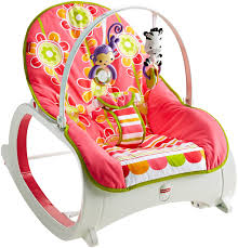 Amazon.com : Fisher-Price Infant-to-Toddler Rocker, Floral Confetti ...