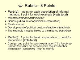 writing for the ap government exam types of ap essays formal  6 rubric