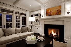 pictures of gas fireplaces living room traditional with coffee table coffered ceiling