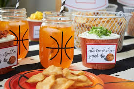 basketball madness watch party ideas easy snacks for your basketball party free printables