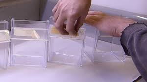 removing adhesive from acrylic plastic and glass without damage fish tanks etc you