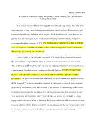 critical thinking in nursing essay edu essay critical thinking in nursing process powerpoint 4748140