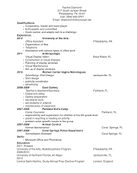 Multidisciplinary Visual Artist Resume Job Search Art Jobs 2385