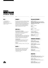 Modern Resumes Best 48 Best Modern Resumes Images On Pinterest Resume Design Design